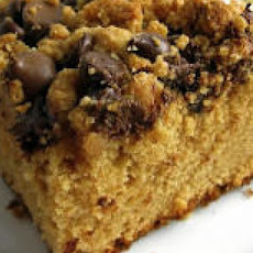 Chocolate and Peanut Butter Streusel Cake