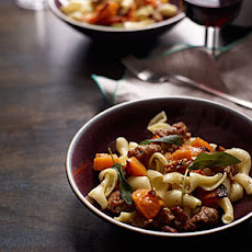 Pasta with Roasted Squash, Sausage and Pecans