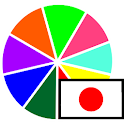 Colors in Japanese icon