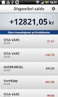 Screenshot of Mobilbank