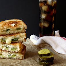 Pepper Jack Grilled Cheese Sandwiches