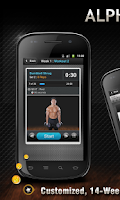Screenshot of Alpha Trainer