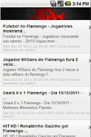 Screenshot of Meu Flamengo