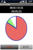 Screenshot of Interval Timer