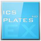 ADW APEX GO - ICS Plates Theme icon