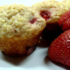 Fresh Strawberry Mini Muffins