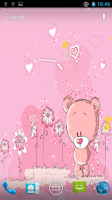 Screenshot of Cute Teddy Bear Live Wallpaper