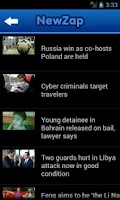 Screenshot of NewZap - News for you