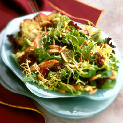Asian Chicken Almond Salad