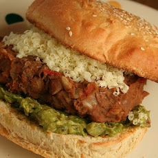 Spicy Mexican Bean Burger