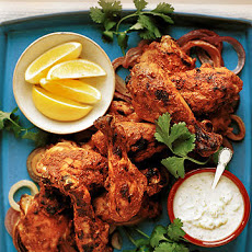Tandoori Chicken Legs with Raita