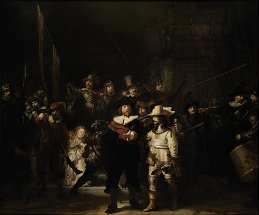 Night Watch, Rembrandt Harmensz. van Rijn