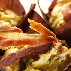 Pumpkin And Bacon Breakfast Muffins