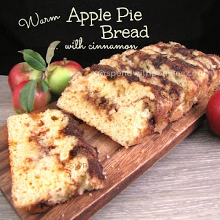Warm Apple Pie Bread with Cinnamon!