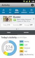 Screenshot of Tagg—The Pet Tracker™