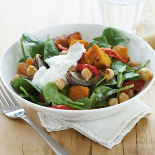 Mediterranean Roast Vegetable And Chickpea Salad