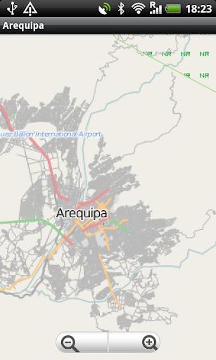 Arequipa Street Map
