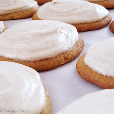 Best Ever Pumpkin Cookies with Cinnamon Cream Cheese Frosting