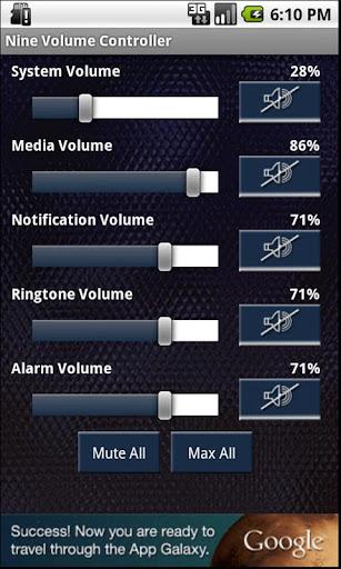 Nine Volume Controller