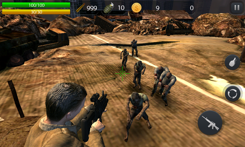 Zombie Hell - FPS Zombie Game Screenshot 6