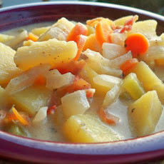 Slow Cooker Hearty Potato Soup