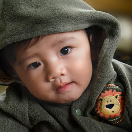 Junior by Jerome Mojica - Babies & Children Babies ( junior, chubby, baby, cute, smile, hood )