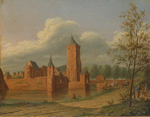 RIJKS: Jan Jacob Teyler van Hall: painting 1840
