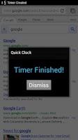 Screenshot of Holo Clock