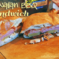 Hawaiian BBQ Sandwiches (inspired by Earl of Sandwich)