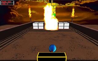Screenshot of Atomic Brick Breaker 3D