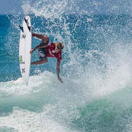 John John Florence by Mike SurfshotHealey - Sports & Fitness Surfing