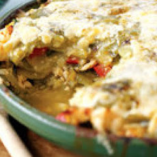 Chicken Tortilla Pie