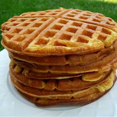 Rich Yogurt Waffles