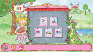 Screenshot of Prinzessin Lillifee Zahlen