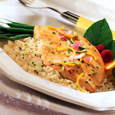 Citrus Chicken and Rice