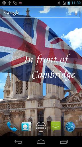 玩免費個人化APP 下載3D英国国旗ライブ壁紙無料 app不用錢 硬是要APP