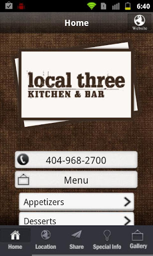 Local Three Kitchen Bar