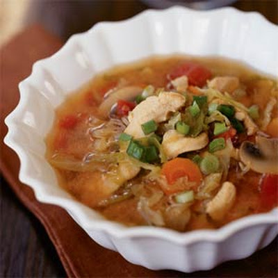 Lemon Grass Chicken Soup
