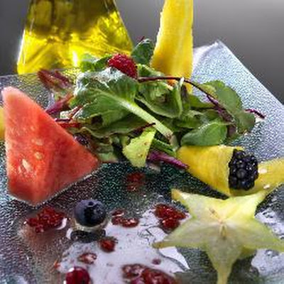 Summer 'fruit' Salad With Raspberry Vinaigrette