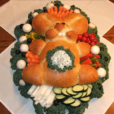 Bunny Bread W/Dip in Tummy!