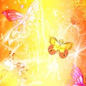 Magical Butterflies, theme icon