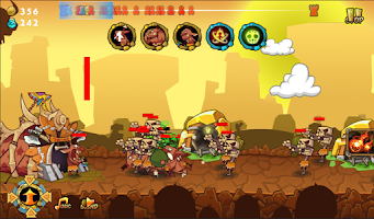 Screenshot of Chaos Fortress