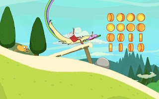 Screenshot of Ski Safari: Adventure Time