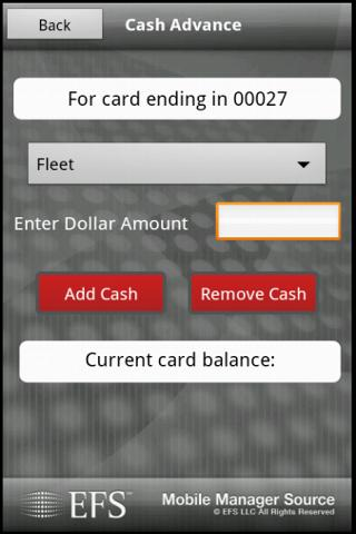 EFS Mobile Manager Source