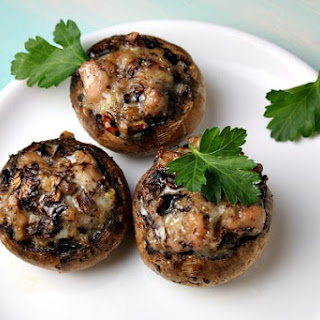 Easy Stuffed Mushrooms