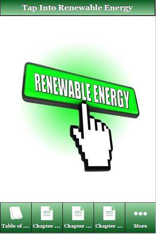 How to Tap to Renewable Energy