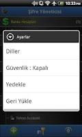Screenshot of Şifre Yöneticisi