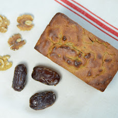 Paleo Date Walnut Bread