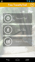 Screenshot of Trace My Trail