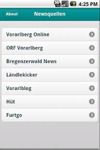 Vorarlberg Reader - screenshot